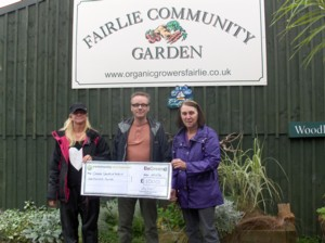Donation to Organic Growers, Fairlie