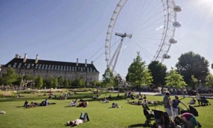 2014 on track to be England's hottest year