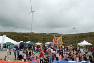 Crowds at the Open Day