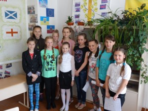 Ukrainian School kids
